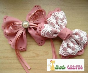 How to Make Two lolita Hair bows by Hands