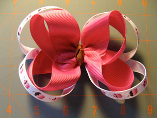 How to make a cheer hair bow