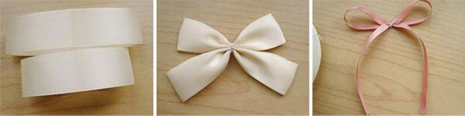 How to make a satin ribbon hair bow
