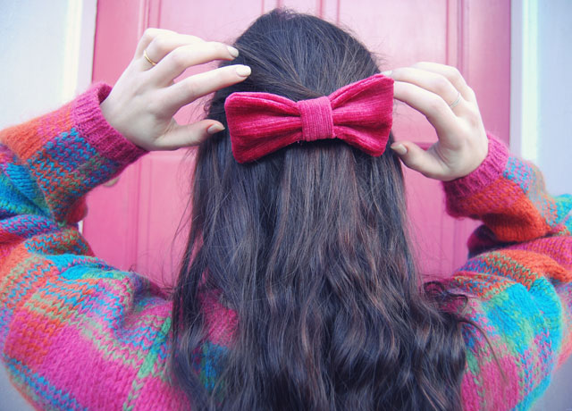 How to make a handmade hair bow
