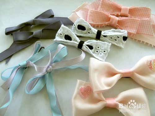 DIY A Lovely Hair bow clip