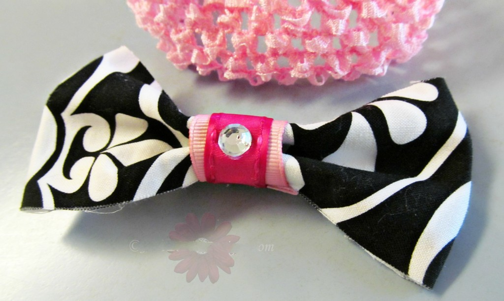 DIY Fashion Fabric Hair Bow