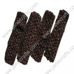"1.5"" Crochet Headbands in Coffee Brown-12PCS"