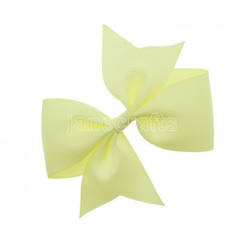 12pcs 4  Solid Pigtail with Spike Hair Bows NO CLIP-Baby Maize