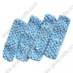 "1.5"" Crochet Headbands in Lt Sky Blue-12PCS"