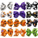 12 pcs 3inch boutique bow for halloween