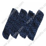 "1.5"" Crochet Headbands in Navy Blue-12PCS"
