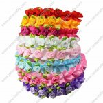 8pcs Baby Girl Flower Plastic headband Wedding 8 Colors