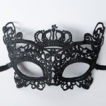 10pcs Eye Mask Lace Sexy Crown Masquerade Halloween Ball Party Fancy Dress Costume