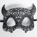 10pcs Eye Mask Lace Sexy Devil Masquerade Halloween Ball Party Fancy Dress Costume
