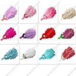 12pcs Feather Hair Bands 12 Colors