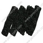 "1.5"" Crochet Headbands in Black-12PCS"