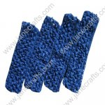 "1.5"" Crochet Headbands in Deep Blue-12PCS"