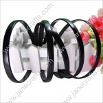 "10MM 3/8"" Baby Plastic Headband No Teeth Wholesale Lot 12PCS Black Hairband For DIY"