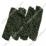 "1.5"" Crochet Headbands in Greendark-12PCS"