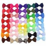 41pcs 2.5 inch Cute Bowtie Bow Clips Mix 41 Color