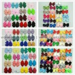 "100pcs Random Bow Clips MIX STYLE MIX SIZE FROM 2.5""-3.5"""