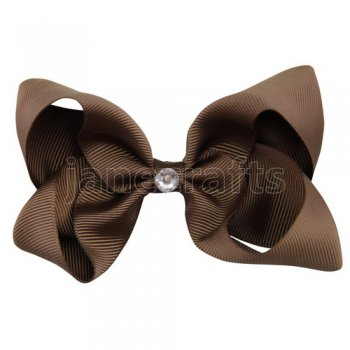12pcs 4 inch bling center boutique bow clip-turftan