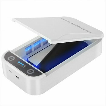 1pc UV Disinfection Box Mobile Phone Sterilizer Portable Small Personal Ultraviolet Disinfection Machine for Phones Cleaner Cabinet
