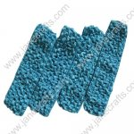 "1.5"" Crochet Headbands in Turquoise-12PCS"