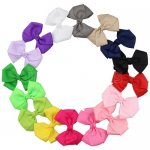 16pcs 3 Inch Pinwheel Hair Bow Clips Mix 16 Color