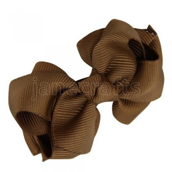 12pcs 2.5 inch layered boutique bow clip-turftan