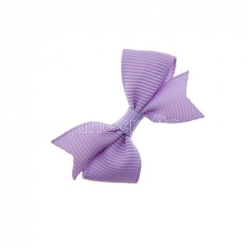 12pcs 2  Solid Pigtail with Spike Hair Bows NO CLIP-Lt Orchid