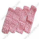 "1.5"" Crochet Headbands in Pink-12PCS"