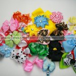 Clearance! 100pcs Random Bow Clips with clip ON SALE!