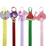 5 pcs cute feagure bow hanger 22inches long