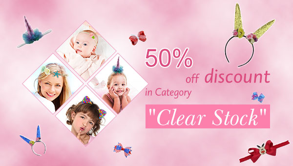 "50% off discount in Category ""Clear Stock"""