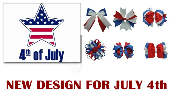 New Design for JULY 4!