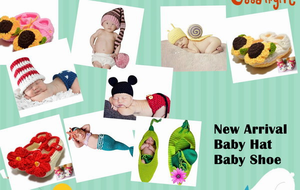New Arrival Baby Hat and Baby Shoe!