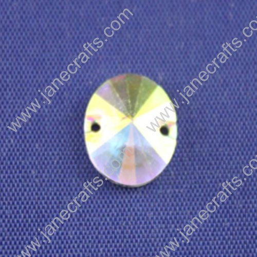Acrylic Rhinestone,AB Color, Round Flat Back,12mm in Diameter,144pcs