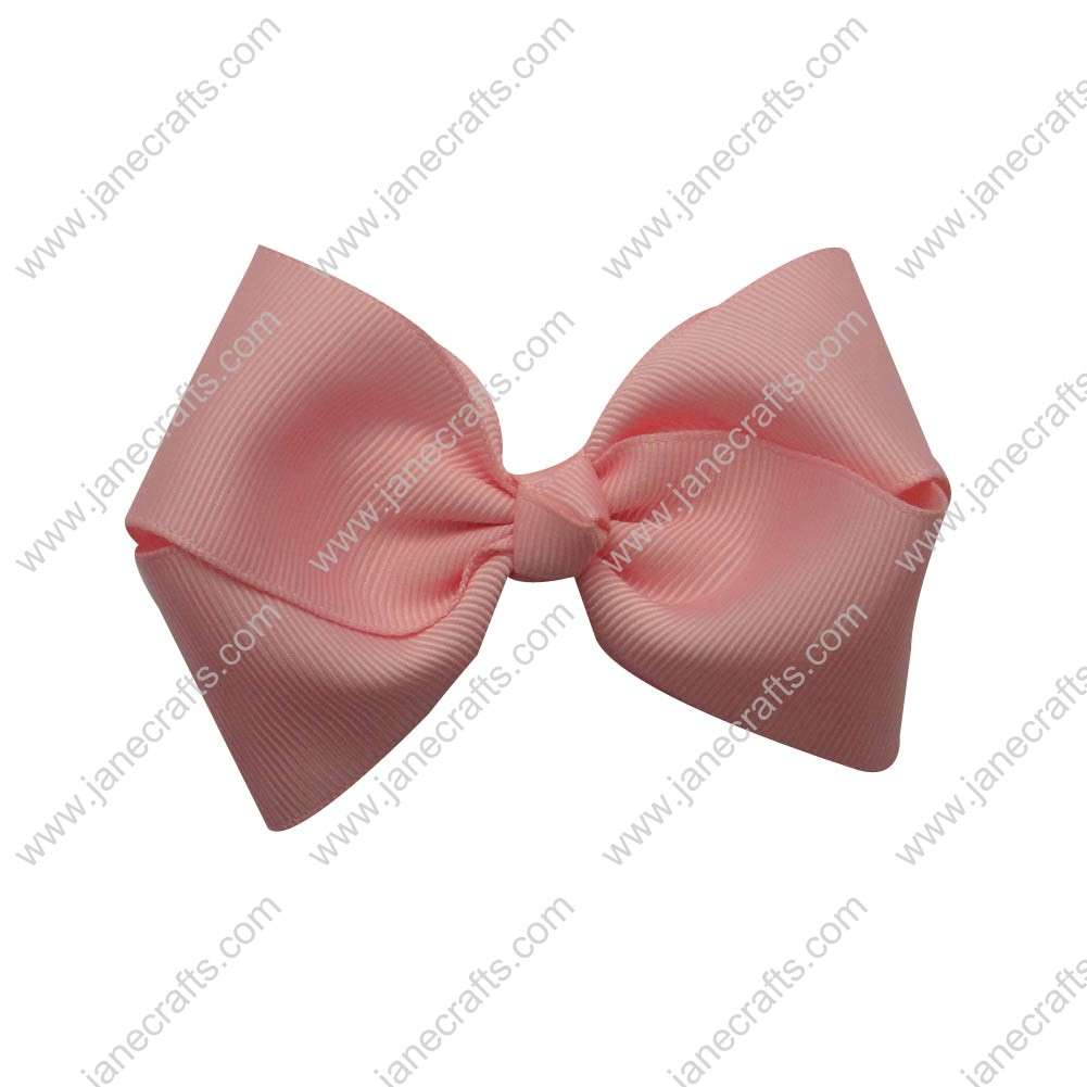 "Wholesale Lot 3 1/2"" Infant Baby Pigtail Solid Grosgrain Pinwheel Hairbow in Pink-30PCS"