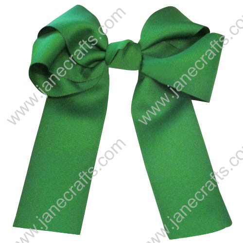 "12PCS Wholesale Lots 6"" Over the Top/Long Tail Cheer Hair bow/Cheerleading-Green"