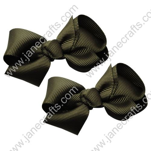 "2.5"" Solid Basic Bows"