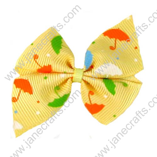 One Loop Pinwheel Bows