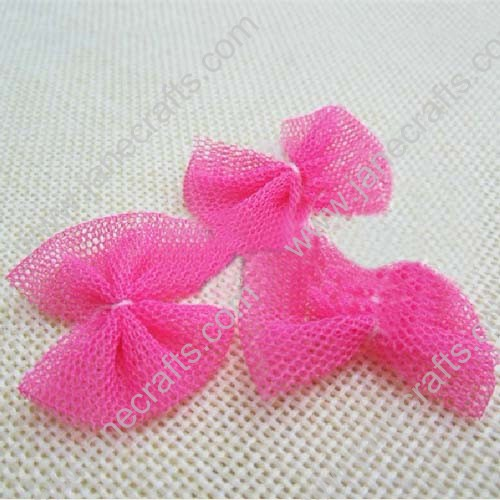 "1 1/4"" Small Sheer Bow Clips 24pcs"