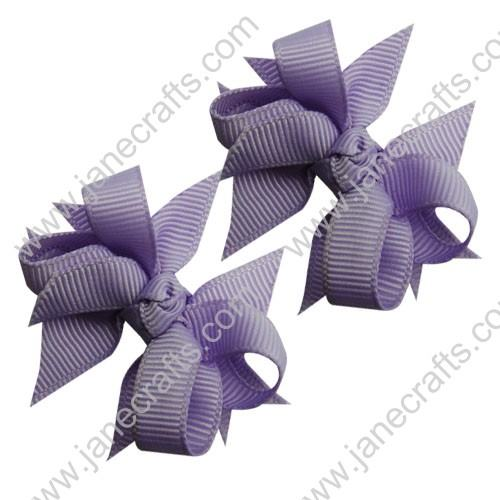 "2 1/4"" DIY Spike Bow without Clip 12 pcs-Lt Orchid"