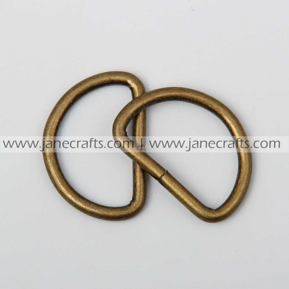 Wholesale hardware buckle d rings ring