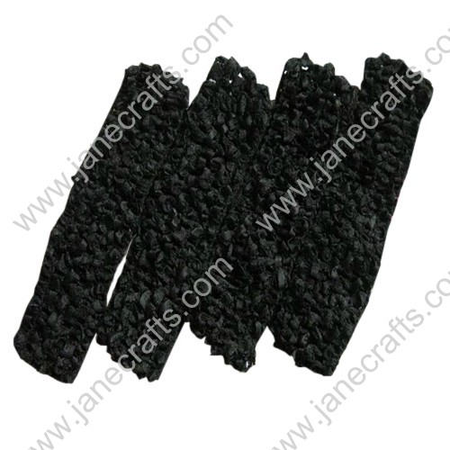"1.5"" Crochet Headbands in Black-24PCS"