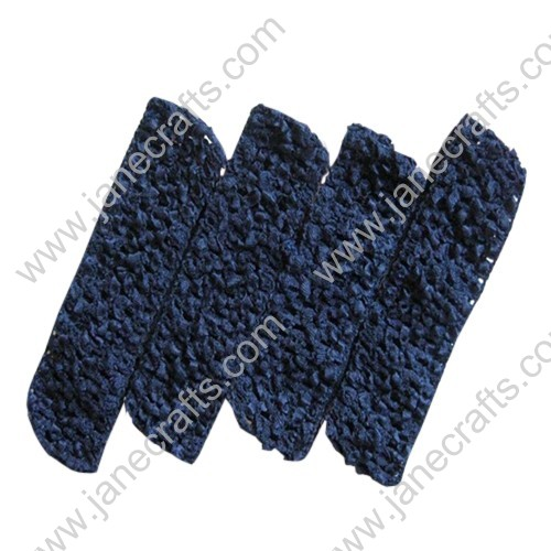 "1.5"" Crochet Headbands in Navy Blue-24PCS"