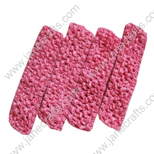 "1.5"" Crochet Headbands in Hot Pink-24PCS"