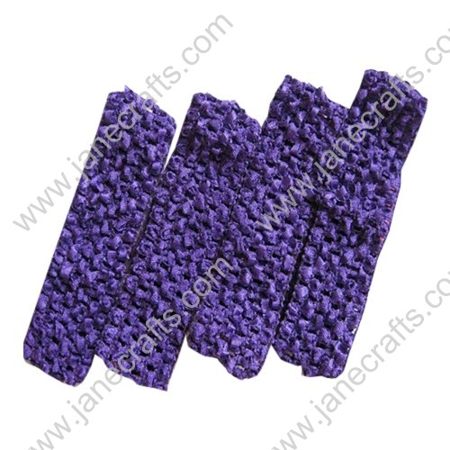 "1.5"" Crochet Headbands in Purple-24PCS"