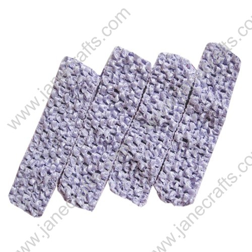 "1.5"" Crochet Headbands in Violet-24PCS"