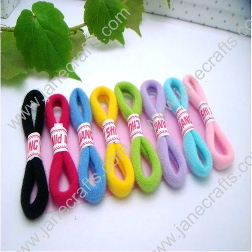48 PCS Candy Colorful Elastic Ponytail or Pigtail Holders-Multi Colors