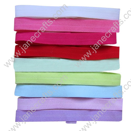 "24pcs 5/8"" Mixed Colors Stretchable Baby Headbands"