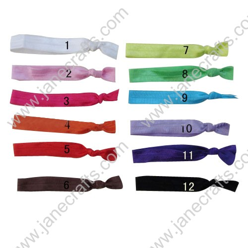 "24pcs 5/8"" Mixed Skinny Stretchable Baby Headbands"