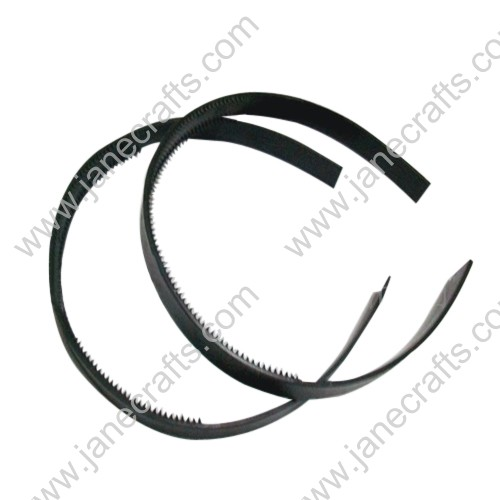 30PCS 14mm wide Black Plastic Archie Headband with Teeth
